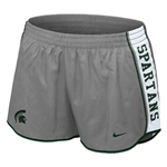 Nike Michigan State Spartans Womens Pacer Shorts