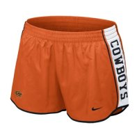 Nike Oklahoma State Cowboys Womens Pacer Shorts