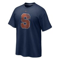 Nike Syracuse Orange Distressed Logo T-shirt