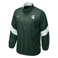 Nike Michigan State Spartans Halfback Pass Pullover Jacket