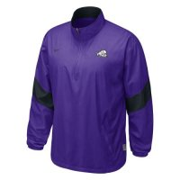 Nike Tcu Horned Frogs Halfback Pass Pullover Jacket