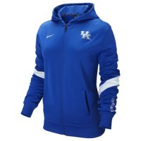 Nike Kentucky Wildcats Womens Full-zip Performance Hooded Sweatshirt