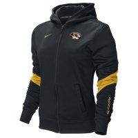Nike Missouri Tigers Womens Full-zip Performance Hooded Sweatshirt