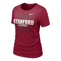 Nike Stanford Cardinals Womens Football Practice T-shirt