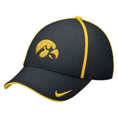 7a938b9ec84 Nike Iowa Hawkeyes Dri-fit Legacy91 Conference Swoosh Flex Hat