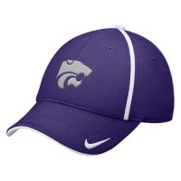 Nike Kansas State Wildcats Dri-fit Legacy91 Conference Swoosh Flex Hat