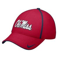 Nike Mississippi Rebels Dri-fit Legacy91 Conference Swoosh Flex Hat