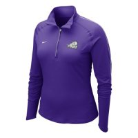Nike Tcu Horned Frogs Womens Half-zip Dri-fit Element Top