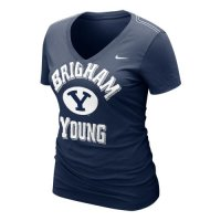 Nike Byu Cougars Womens Whose That V-neck T-shirt