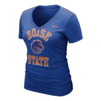Nike Boise State Broncos Womens Whose That V-neck T-shirt
