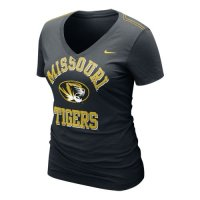 Nike Missouri Tigers Womens Whose That V-neck T-shirt