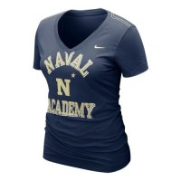 Nike Naval Academy Womens Whose That V-neck T-shirt