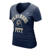 Nike Pittsburgh Panthers Womens Whose That V-neck T-shirt