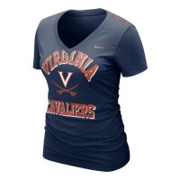 Nike Virginia Cavaliers Womens Whose That V-neck T-shirt
