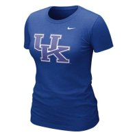 Nike Kentucky Wildcats Womens Graphic Blended T-shirt