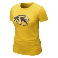 Nike Missouri Tigers Womens Graphic Blended T-shirt