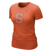 Nike Syracuse Orange Womens Graphic Blended T-shirt