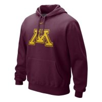 Nike Minnesota Golden Gophers Classic Logo Hooded Sweatshirt