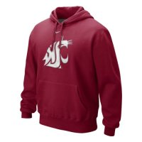 Nike Washington State Cougars Classic Logo Hooded Sweatshirt