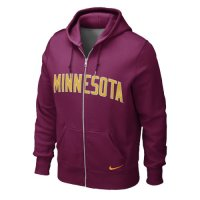 Nike Minnesota Golden Gophers Classic Full-zip Hooded Sweatshirt