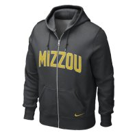 Nike Missouri Tigers Classic Full-zip Hooded Sweatshirt