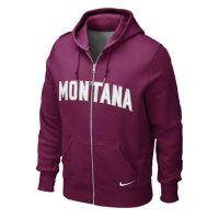 Nike Montana Grizzlies Classic Full-zip Hooded Sweatshirt