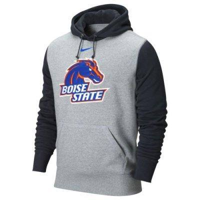 newest c2acf cf622 Nike Boise State Broncos Seasonal Fleece Hooded Sweatshirt