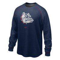 Nike Gonzaga Bulldogs The People's Washed Waffle Crew Shirt