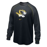 Nike Missouri Tigers The People's Washed Waffle Crew Shirt
