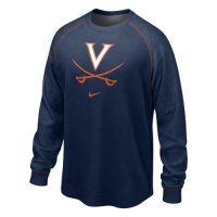 Nike Virginia Cavaliers The People's Washed Waffle Crew Shirt