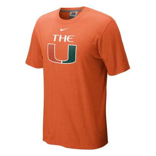 ce786ccffc6fa Nike Miami Hurricanes Classic Logo T-shirt