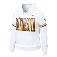 Nike Minnesota Golden Gophers Womens Vault Pull-over Hooded Sweatshirt