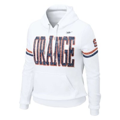Nike Syracuse Orange Womens Vault Pull-over Hooded Sweatshirt