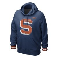 Nike Syracuse Orange Vault Stripe Pull-over Hooded Sweatshirt