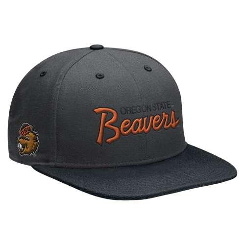 Nike Oregon State Beavers Vault True Flatbill Snapback Hat f256b376a3e