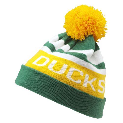 Nike Oregon Ducks Vault Best Knit Pom Beanie a1650b1374f