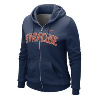 Nike Syracuse Orange Womens Classic Full-zip Hooded Sweatshirt