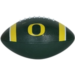 Green/Yellow Nike Oregon Ducks Mini Rubber Football