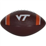 Nike Virginia Tech Hokies Mini Rubber Football