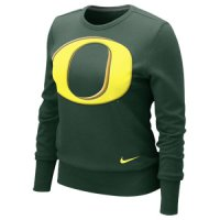 Nike Oregon Ducks Women's Crew Fleece Sweatshirt