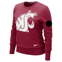 Nike Washington State Cougars Women's Crew Fleece Sweatshirt