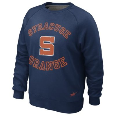 Nike Syracuse Orange Vault Crew Fleece Sweatshirt