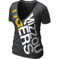 Nike Missouri Tigers Women's Deep V Blended Tee
