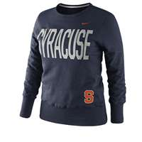 Nike Syracuse Orange Women's Classic Fleece Crew Sweatshirt