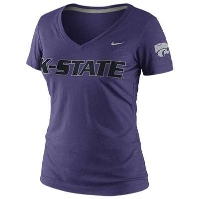 63edb4b978a26 Nike Kansas State Wildcats Women's Seasonal Logo T-Shirt