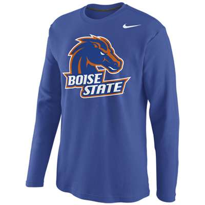 7c8f621e Nike Boise State Broncos Long-Sleeve Thermal Top