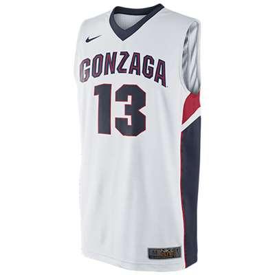 Nike Gonzaga Bulldogs Replica Basketball Jersey