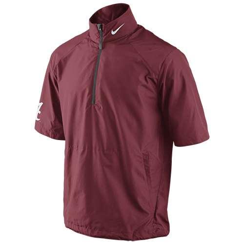659947bd2544 Nike Alabama Crimson Tide Short Sleeve Hot Jacket