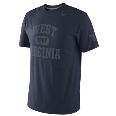 Nike West Virginia Mountaineers School Tribute Tri-Blend T-Shirt