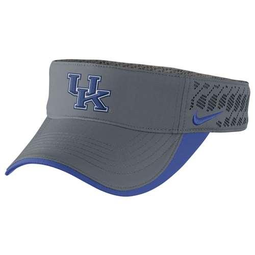 Nike Kentucky Wildcats Tech Football Visor 9c973553e79